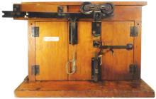 National Mfg. Co. Salesman Sample Garage Set