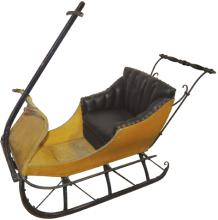 1800's Child's Push Sled