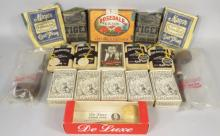Collection of Tobacco Items