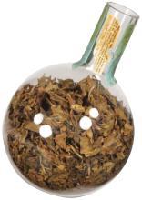 Rare Glass Bulb Tobacco Container