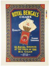 Royal Bengals Cigars Printers Proof
