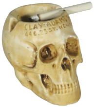 Advertising Skull Ashtray