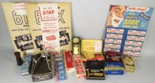 Collection of Miscellaneous Barbershop Items