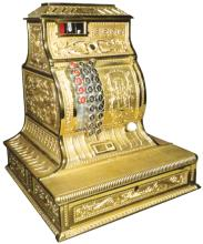 1898 Columbia Hallwood Cash Register