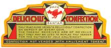 Rare Pace Bantam Bell Confection Marquee Sign