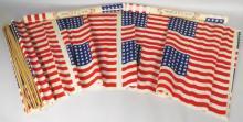 Three Children's American Flag Sets