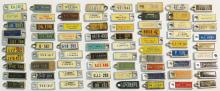 Keychain License Plate Tags