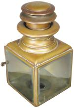 Gray & Davis Brass Carriage Lantern