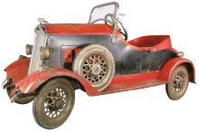 Rare 1930 American National Pedal Car