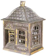 Cast Iron Home Savings Building Still Bank