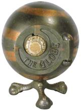 Kenton Cast Iron Globe Safe Still Bank