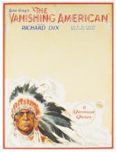 Zane Grey's Movie Poster Original Art