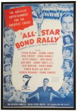 20th Century Fox All Star Bond Rally Poster