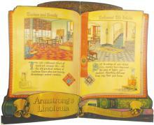 Armstrong's Linoleum Bi-Fold Window Display