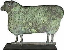 Full Body Sheep Weathervane