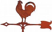 Zinc Rooster Weathervane