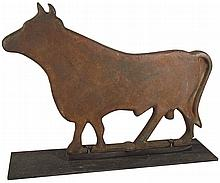 Cast Iron Bull Windmill Weight