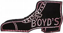 Boyd's Jeweled Can Shoe OutdoorTrade Sign