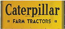 Caterpillar Farm Tractors Tin Sign