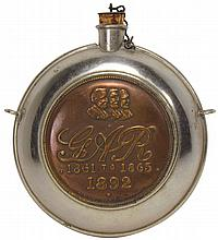 G.A.R. Souvenir Flask