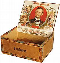 Model American Cigar Box