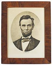 Portrait of Lincoln, Photogravure & Color Co. N.Y