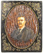 Theodore Roosevelt Wood Carving
