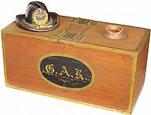 G.A.R. Ballot Box and Paperweight