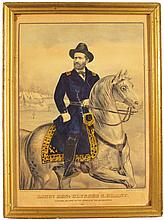 Lt. General Ulysses S. Grant Currier & Ives Print