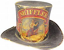 1846 Fire Parade Hat. Shiffler Hose Comp'y, 1846