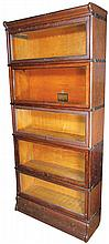Globe Wernicke Co. Stacking Book Case