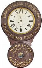 Black Diamond Oil, Baird Advertising Clock