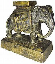 Persian Garden Incense Elephant Figure
