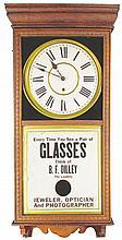 B. F. Dilley Advertising Clock
