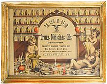 Apothecary Paper Sign