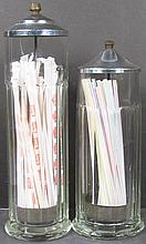 Two Straw Dispensers