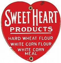 Sweet Heart Products Porcelain Sign