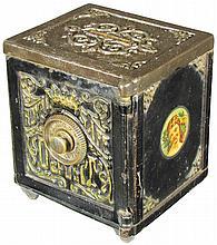 Royal Safe Deposit Small Cast Iron Bank Safe