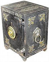 Security Safe Deposit Small Cast Iron Safe