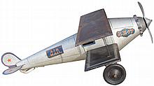 American National Airmail Toy Airplane
