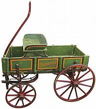 Studebaker Wood Childs Goat Wagon