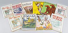 Vintage Sporting Magazines and Catalog