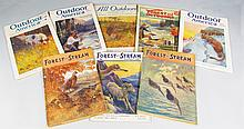 8 issues of Miscellaneous Outdoors Magazines