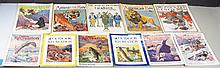 Collection of Vintage Sporting Magazines