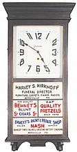 Session 8 Day Automobile Advertising Clock