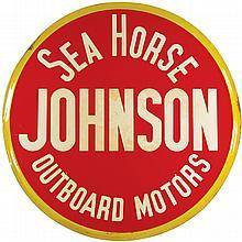 Johnson Sea-Horse Outboard Motors Tin Sign