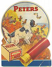Peters Ammunition Cardboard Poster