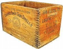 Robin Hood Ammunition Co. Wood Shell Box Crate