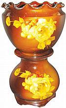 Louwelsa-Weller Art Pottery Jardinière