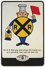 Child Safety Education Society Tin Sign